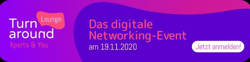 Turaround-Lounge 2021 – Das digitale Networking-Event