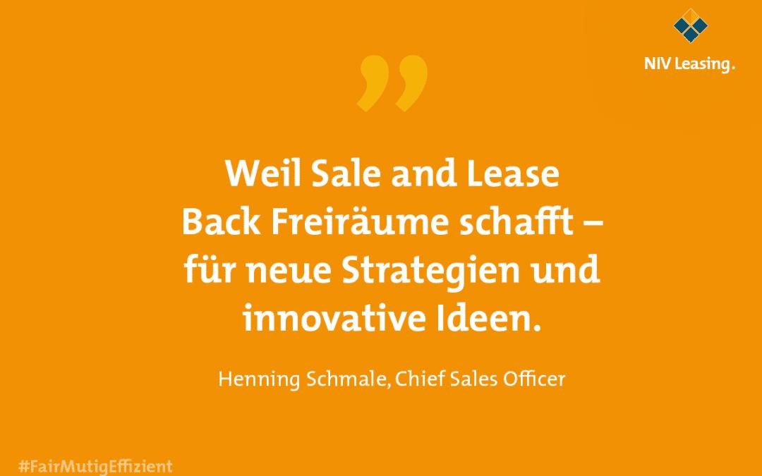 Bereit für den Neustart mit Sale and lease back Finanzierungslösungen